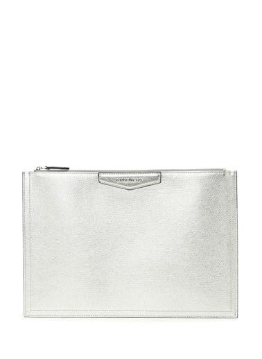 Givenchy Clutch / El Çantası Gümüş